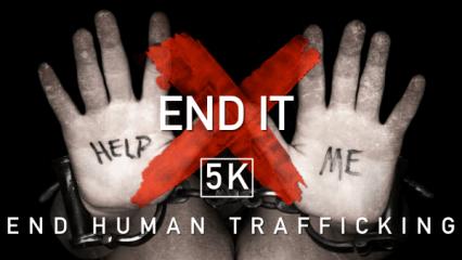 End It 5k 2021 registration logo