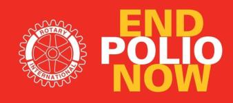 End Polio Mino Marathon registration logo
