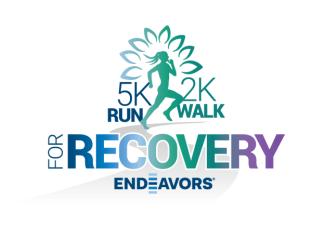 Endeavors 5K Run/2K Walk for Recovery registration logo