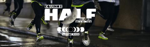 Equinox Half Marathon and 5k registration logo