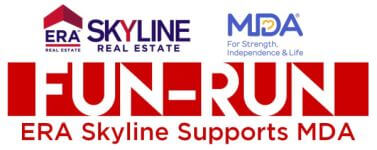 ERA Skyline Supports MDA Fun Run 5K registration logo