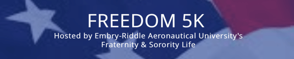ERAU Freedom 5k registration logo
