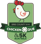 Erie County 4-H 5K Run/Walk registration logo