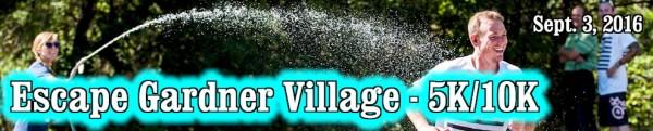 Escape Gardner Village registration logo