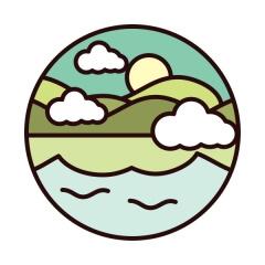 Eureka Lake Color Run registration logo
