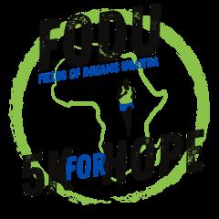 Evansville Dresses for Dreams Global 5K registration logo