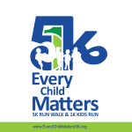 Every Child Matters 5K registration logo