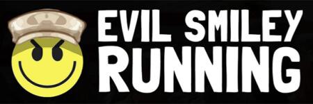 Evil Smiley Veteran's Day Run registration logo
