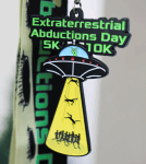 EXTRATERRESTRIAL ABDUCTIONS DAY 5K & 10K - Clearance registration logo