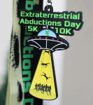 EXTRATERRESTRIAL ABDUCTIONS DAY 5K & 10K Now only $12.00! registration logo