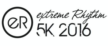 Extreme Rhythm 5k registration logo