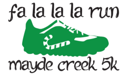 FA LA LA LA Run registration logo