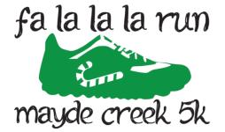 FA LA LA LA Run registration logo