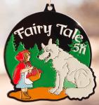 Fairy Tale 5K - Little Red Riding Hood registration logo