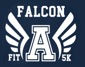 Falcon Fit 5K registration logo