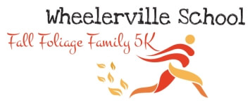 Fall Foliage Family 5k walk/run registration logo