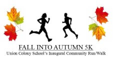 FALL INTO AUTUMN 5K registration logo