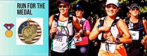 Fall Run for the Medal Virtual Race registration logo
