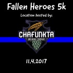 Fallen Heroes 5k Run/Walk registration logo