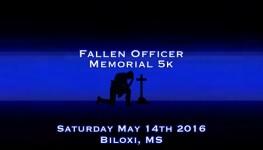 Fallen Officer Memorial 5k registration logo