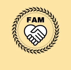 FAM Virtual 3k registration logo