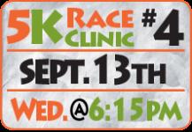 FamFest 5K Race Clinic - registration logo