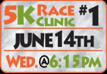 FamFest 5K Race Clinic - First Session registration logo