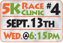 FamFest 5K Race Clinic - Fourth Session registration logo