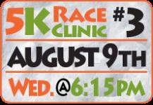 FamFest 5K Race Clinic - Third Session registration logo