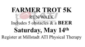 Farmer Trot 5K registration logo