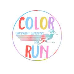 Farmington Community 5K Color Run/Walk registration logo