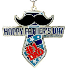 Fathers Day 1M 5K 10K 13.1 and 26.2 registration logo