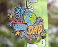 Father's Day 5K - World's Best Dad registration logo