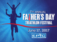 Father's Day Triathlon registration logo