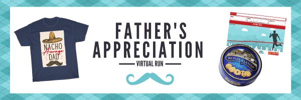 Father's Day Virtual Run 2021 registration logo