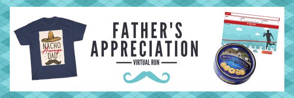 Father's Day Virtual Run registration logo