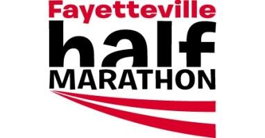 Fayetteville Half Marathon registration logo