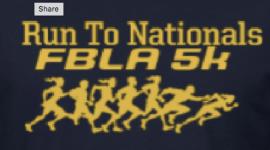 FBLA Race to Nationals registration logo