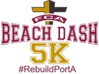 FCA Beach Dash 5K registration logo