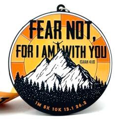 Fear Not 1M 5K 10K 13.1 26.2 registration logo