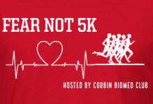 Fear Not 5k registration logo