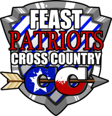 FEAST 18th Annual Patriot Cross Country Invitational registration logo