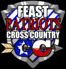 FEAST 18th Annual Patriot Cross Country Invitational registration logo