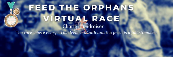 Feed the Orphans Virtual Race registration logo