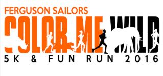 Ferguson 'Color Me Wild' Fun Run registration logo