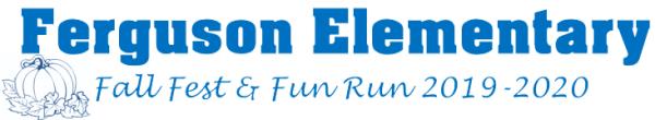 Ferguson Fall Fun Run 2019 registration logo