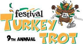 Festival Foods Turkey Trot Manitowoc registration logo
