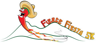 Fierce Fiesta 5k  registration logo