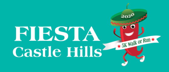 Fiesta Castle Hills 5k Fun Run/Walk registration logo