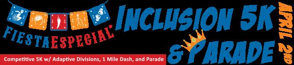 Fiesta Especial Inclusion 5K & 1 Mile Dash registration logo